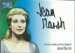 Doctor Who JEAN MARSH - Princess Joanna and Sara Kingdom  AUTOGRAPH CARD AU5, Strictly Ink - 10643